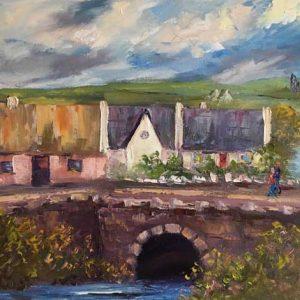 Doolin Village Painting