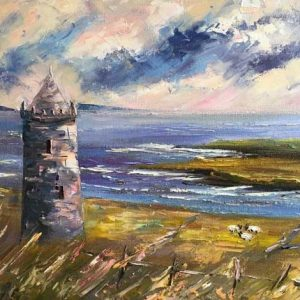 Doonagore Castle Painting