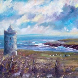 Doonagore Castle Doolin Painting