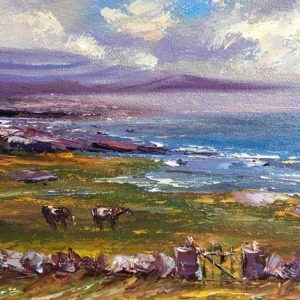 Morning at Fanore Painting