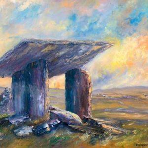 Polnabrone Dolman Painting
