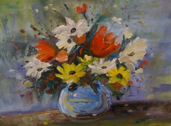 Summer Bouquet Painting