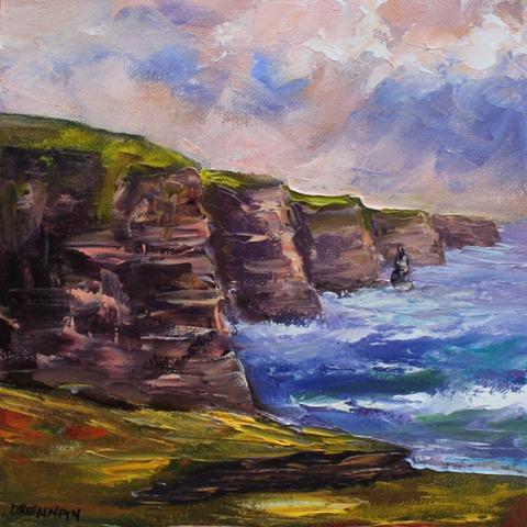 Cliffs of Moher Evening