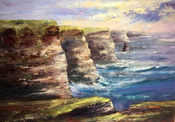 Cliffs of Moher Painting