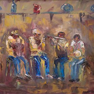 Doolin Music Painting