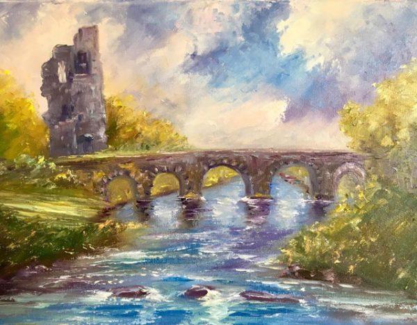 Doonbeg Castle Painting