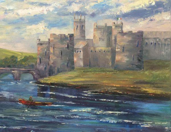 King John's Castle Painting