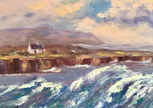 Doolin High Seas Painting
