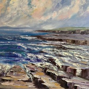 On the Rocks Painting
