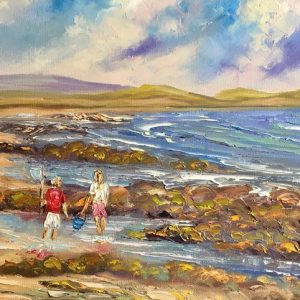 The Crab Fishers Painting