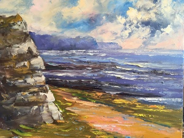 Through the Burren Painting