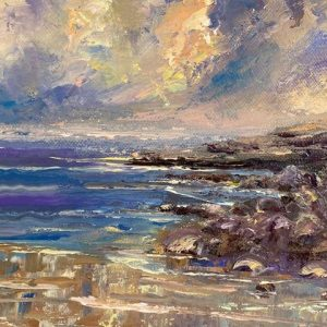 Fanore Evening Painting