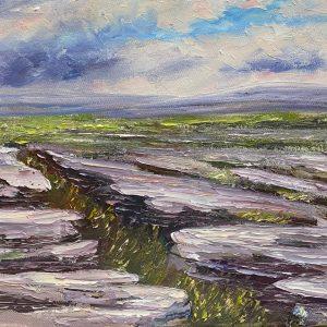 Burren Grykes Painting