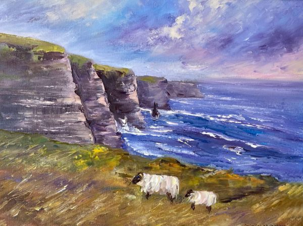 Cliffs of Moher Sheep