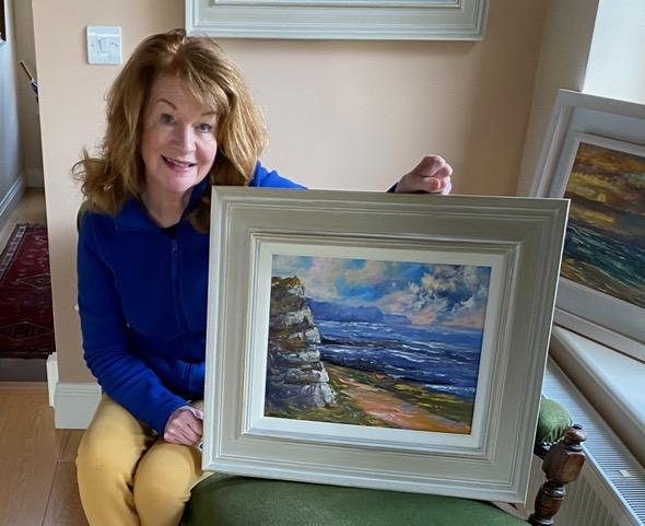 Painting in the Burren