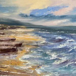 Painting of the Wild Atlantic Way