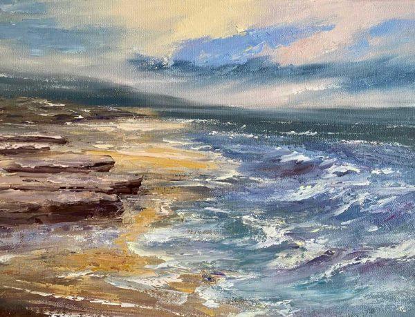 Painting of the Wild Atlantic Way