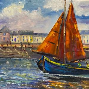Into Galway Bay Painting