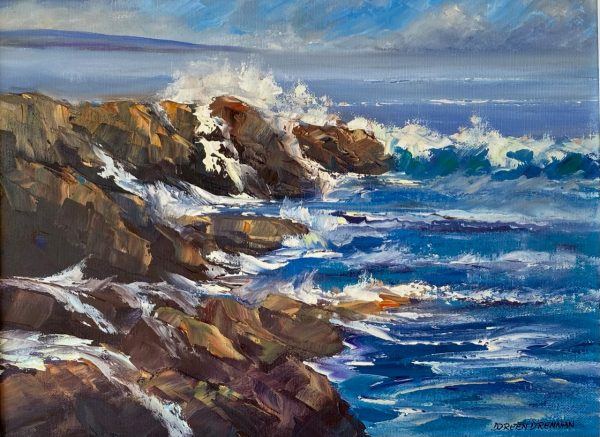 Sea Surf Painting