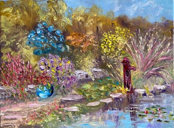 The Water Garden Painting