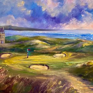 Doonbeg Golf Painting