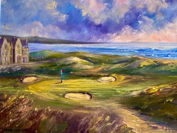 Doonbeg Golf Painting